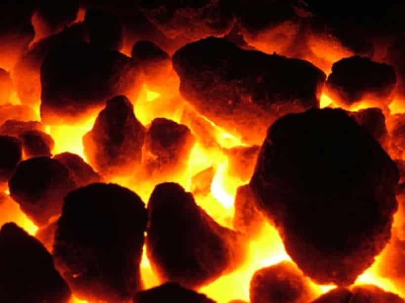 ¿Carbón o leña?