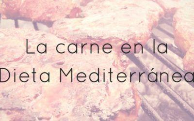 La carne en la dieta Mediterránea