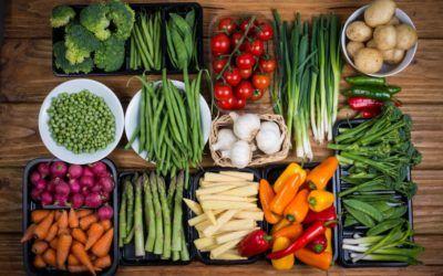 Hortalizas y verduras, reconstituyente saludable